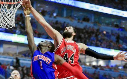 Mirotic fue el español más destacado de la jornada en la NBA.