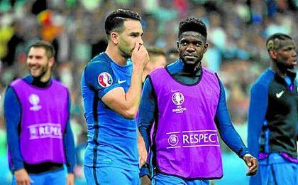 Rami pugna con Umtiti por un puesto en la zaga de Francia