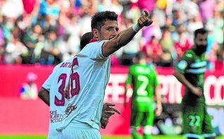 Stevan Jovetic: ´Estoy feliz en el Sevilla y espero quedarme´