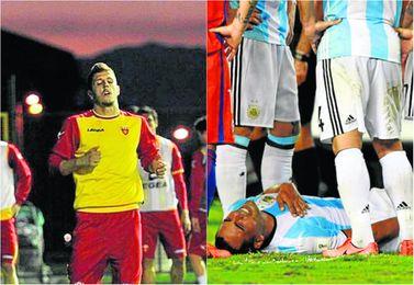 Jovetic y Mercado vuelven lesionados.