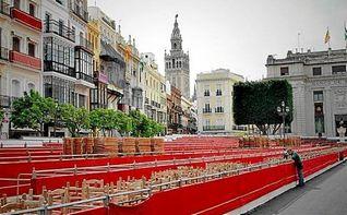 El ayuntamiento sorteará 136 plazas de palcos para Semana Santa