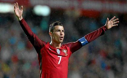 Santos habla del rendimiento de Ronaldo