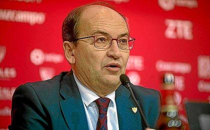 José Castro, en una comparecencia en sala de prensa.