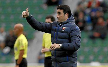 Confía en poder ganar al Córdoba