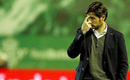 Víctor Sánchez del Amo lamentó la derrota bética.