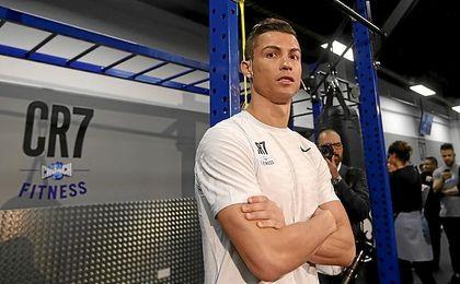 Cristiano, en su nuevo gimnasio.