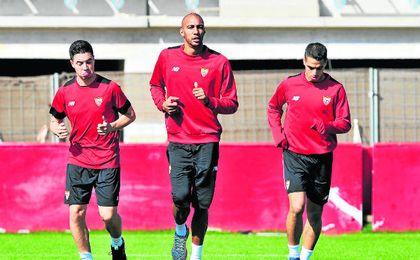 Jugadores como Nasri, N´Zonzi y Ben Yedder deben liderar la necesaria reacción de un Sevilla que suma tres jornadas sin vencer.