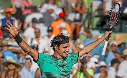 Federer ha podido otra vez con Nadal.