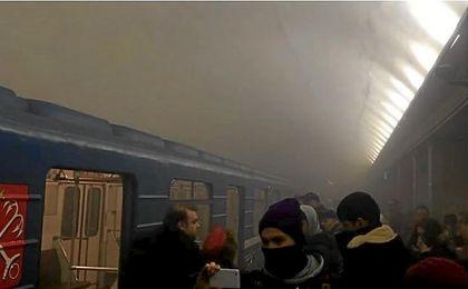 Una explosión sacude el metro de San Petersburgo