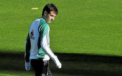 Rubén Pardo ha encontrado la regularidad en el Betis.