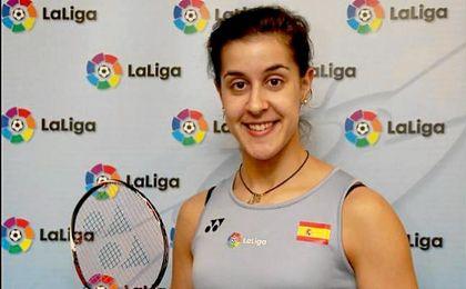 Carolina Marín comienza con una fácil victoria