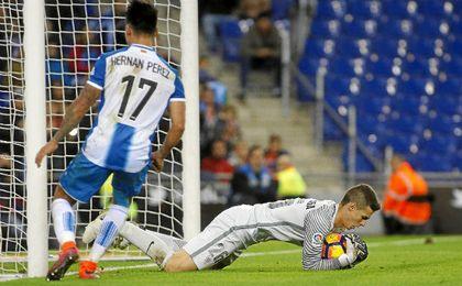 Hernan Pérez es cauto ante el objetivo espanyolista.