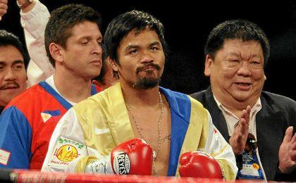 Manny ´Pac-Man´ Pacquiao vuelve al cuadrilátero.