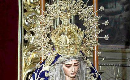 Un error en la tintorería deja sin manto de salida a la Virgen del Buen Fin