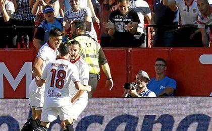 Sevilla F.C. 4-2 Deportivo: Triunfo, tranquilidad y a uno del Atlético