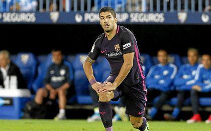 El Barcelona se quedó sin ver puerta en Málaga.
