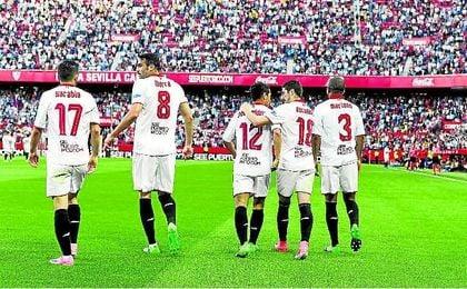 Los mejores suplentes de la Liga esta temporada son Sarabia e Iborra, con cuatro, los mismos que Morata.