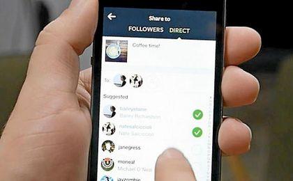 Instagram Direct ya deja compartir fotos y vídeos efímeros en conversaciones privadas