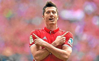 Lewandowsli duda para el partido ante el Madrid.