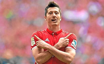 Lewandowski se pierde el Bayern-Real Madrid.