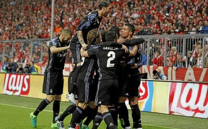 El Madrid ganó en Múnich.