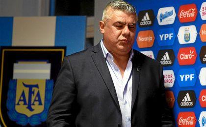 Claudio Tapia, presidente de la AFA.