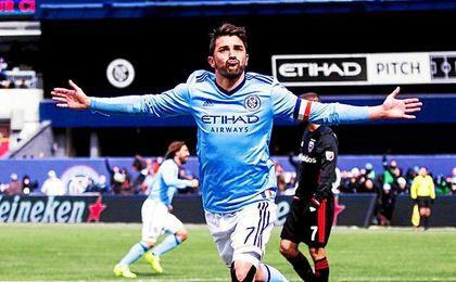 Villa lleva 45 goles y 15 asistencias en 77 partidos en la MLS.