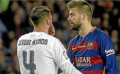 Ramos no se muerde la lengua para contestar a Piqué