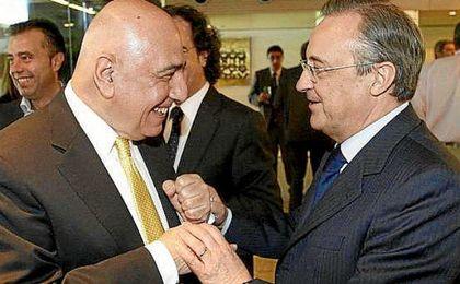 Galliani y Florentino han cultivado una amistad a través del fútbol.