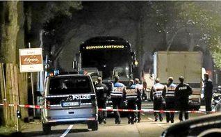 Detenido el sospechoso autor del atentado contra el autobús del Dortmund