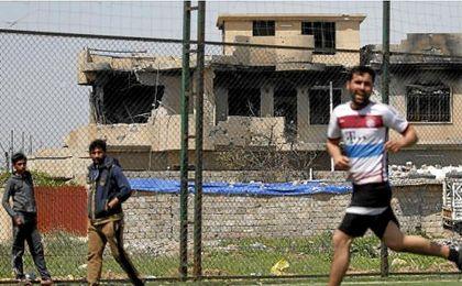 El fútbol regresa a Mosul.