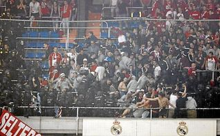 El Bayern critica la ´violenta´ actuación policial en Madrid