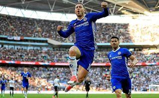4-2. Hazard rescata al Chelsea y lo mete en la final de la FA Cup