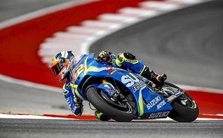 Viñales, más rápido que Márquez; Rins es baja para el gran premio