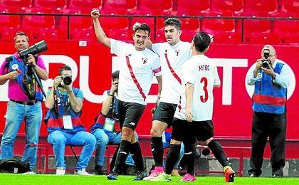 El Sevilla Atlético disfruta de un gran momento tras golear la pasada jornada al Valladolid por 6-2.