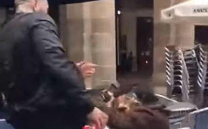 La Ertzaintza investiga la agresión del hincha del Betis