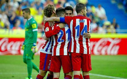 El Atlético no tuvo piedad en Las Palmas.