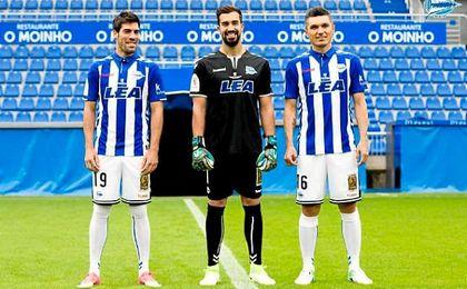 El Alavés vestirá de albiazul en la final de la Copa del Rey
