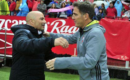 """Sampaoli selañó que Berizzo es un técnico """"ambicioso"""" y preparado para dirigir un equipo como el Sevilla."""