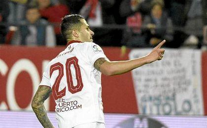 Vitolo no descansa para llegar a la Real Sociedad