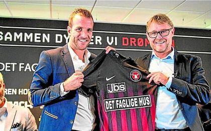 El Midtjylland saca provecho de Van der Vaart