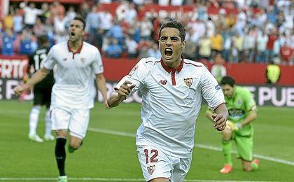 El Sevilla sólo necesita un punto para jugar la previa de la Liga de Campeones.
