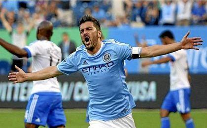 Villa volvió a ser el jugador ejemplar en la jornada de la MLS