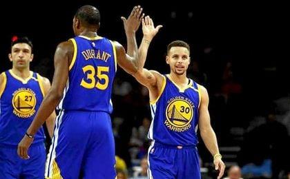 Los Warriors, primeros finalistas del Oeste tras derrotar a Utah Jazz