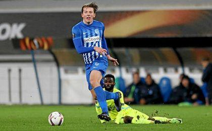 Sander Berge es una sensación en Bélgica.