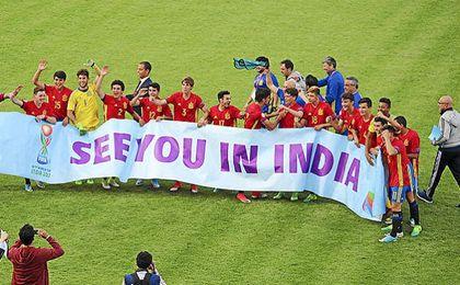 España logró meterse en el Mundial ocho años después.