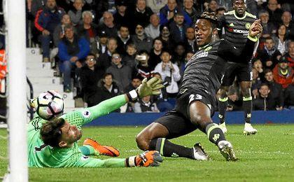 El gol que da la Premier al Chelsea.
