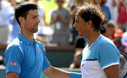 Nadal y Djokovic se miden en las semifinales del Master de Madrid.