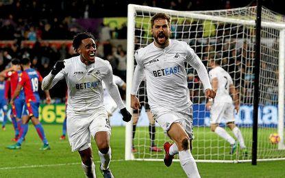 Llorente ha sido decisivo en las últimas semanas para el Swansea.