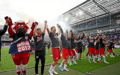 El Salzburgo se ha vuelto a proclamar campeón.